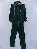 Зимний женский костюм трикотаж с начесом на змейке Батал оптом в Одессе (7км).