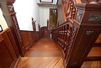 Грунтовка деревянных лестниц