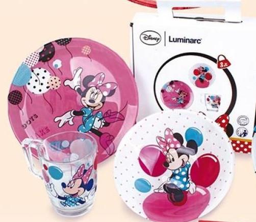Disney Party Minnie  Набор для детей - 3 пр Luminarc N5279