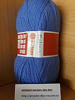 Акриловая пряжа(100%-акрил, 100г/450(900)м) Kartopu kristal 535(небесно-голубой)