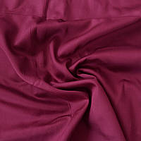 Сатин Люкс однотонный бордовый, ширина 240 см, фото 1