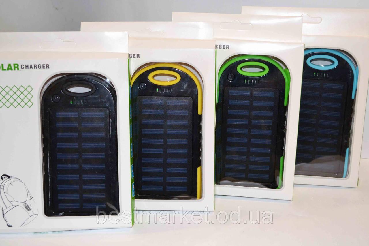 Внешний аккумулятор c LED Power bank L3 solar 10000 mAh