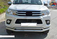 Toyota Hilux 2015- Кенгурятник Передняя защита