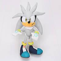 Игрушка соник ёж Сильвер (Super Sonic) 50 см