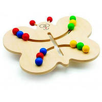Развивающая игрушка Мир деревянных игрушек Лабиринт-Бабочка (Д370)