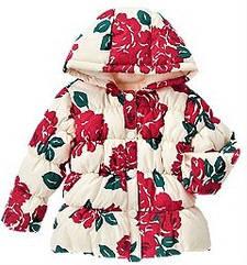 Стильная утепленная куртка в ярких цветах (Размер 2-4Т) Crazy8 (США)