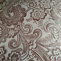 Мебельная ткань мокрый флок для обшивки мягкой мебели, фото 1