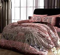 Комплект постельного белья TAC didgital Chanelle сатин 220-200см, фото 1