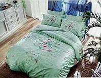 Комплект постельного белья TAC didgital Misti сатин 220-200см, фото 1