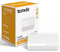 Неуправляемый коммутатор TENDA S105 (switch) 5-port