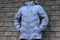 Мужская зимняя термо куртка Snow Headquarter с мембраной 48 размер