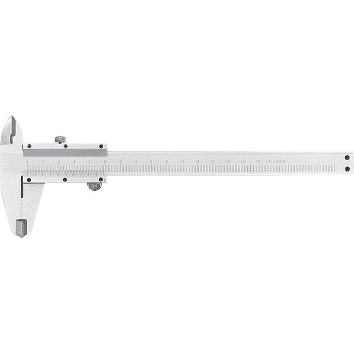 Штангенциркуль 200 мм, цена деления 0,02 мм, металлический, с глубиномером MTX 3163259