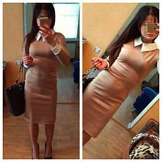 Стильное платье с белым воротничком, фото 2