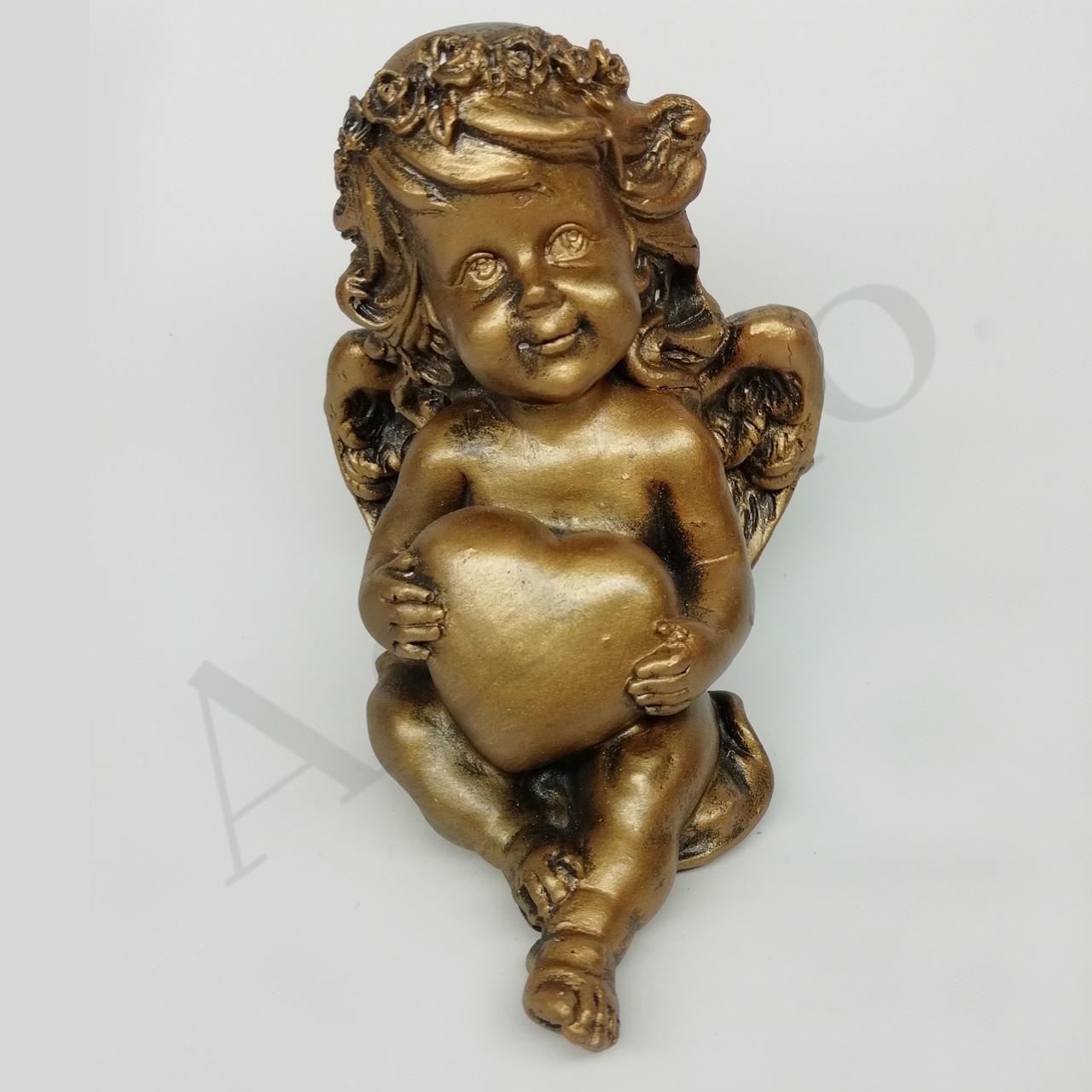 Статуэтка Ангел с сердцем 12 см
