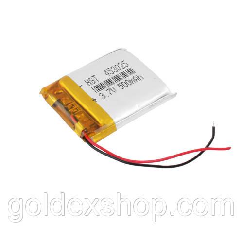 Аккумулятор литий-полимерный 453025, 500 mAh, 3.7V