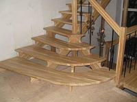 Реконструкция деревянных лестниц в Киевской области