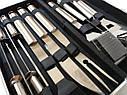 Набор для барбекю в алюминиевом кейсе GA Dynasty 10 предметов, 12081, фото 2