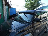 Накладка на крышу (козырек  солнцезащитный) УАЗ 3163 Патриот