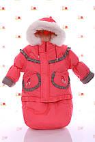 Зимний комбинезон 3 в 1. Куртка, штаны, конверт от рождения до 3 лет., фото 2