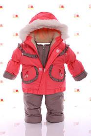 Зимний комбинезон 3 в 1. Куртка, штаны, конверт от рождения до 3 лет.