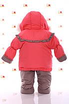 Зимний комбинезон 3 в 1. Куртка, штаны, конверт от рождения до 3 лет., фото 3