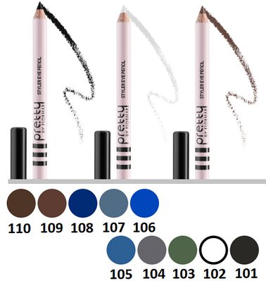 Карандаш для глаз Pretty (by Flormar) Styler Eye Pencil