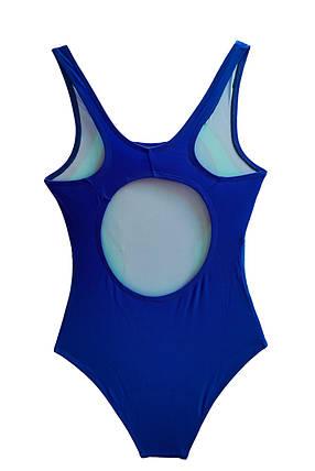 Совместный детский купальник для бассейна Темно-синий + голубой, фото 2