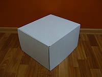 Картонная коробка 420х300х190 белая, фото 1