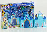 Замок Фроузен с мебелью + фигурка Анна. Кукольный игрушечный домик для девочек