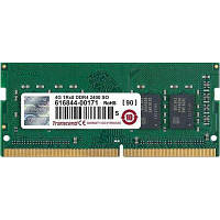 Модуль памяти для ноутбука SoDIMM DDR4 4GB 2400 MHz Transcend (JM2400HSH-4G)