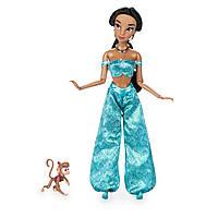 Классическая кукла Disney Жасмин и питомец обезьянка Абу Дисней Jasmine with Abu 2017 г оригинал, фото 1