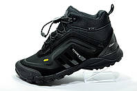 Зимние термо кроссовки в стиле Adidas Terrex Thermo Seamaster 350, Black