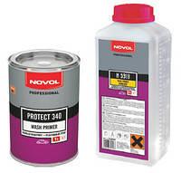 Грунтовка автомобильная реактивная Novol PROTECT 340 WASH PRIMER с отвердителем 1л+1л