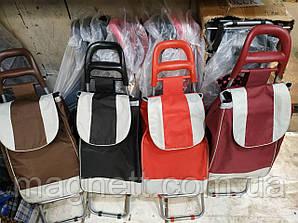 Сумка тележка для покупок на колёсах хозяйственная (кравчучка)