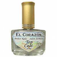 Закрепитель лака с акрилом El Corazon Nail Care Top Coat №402 (16 мл)