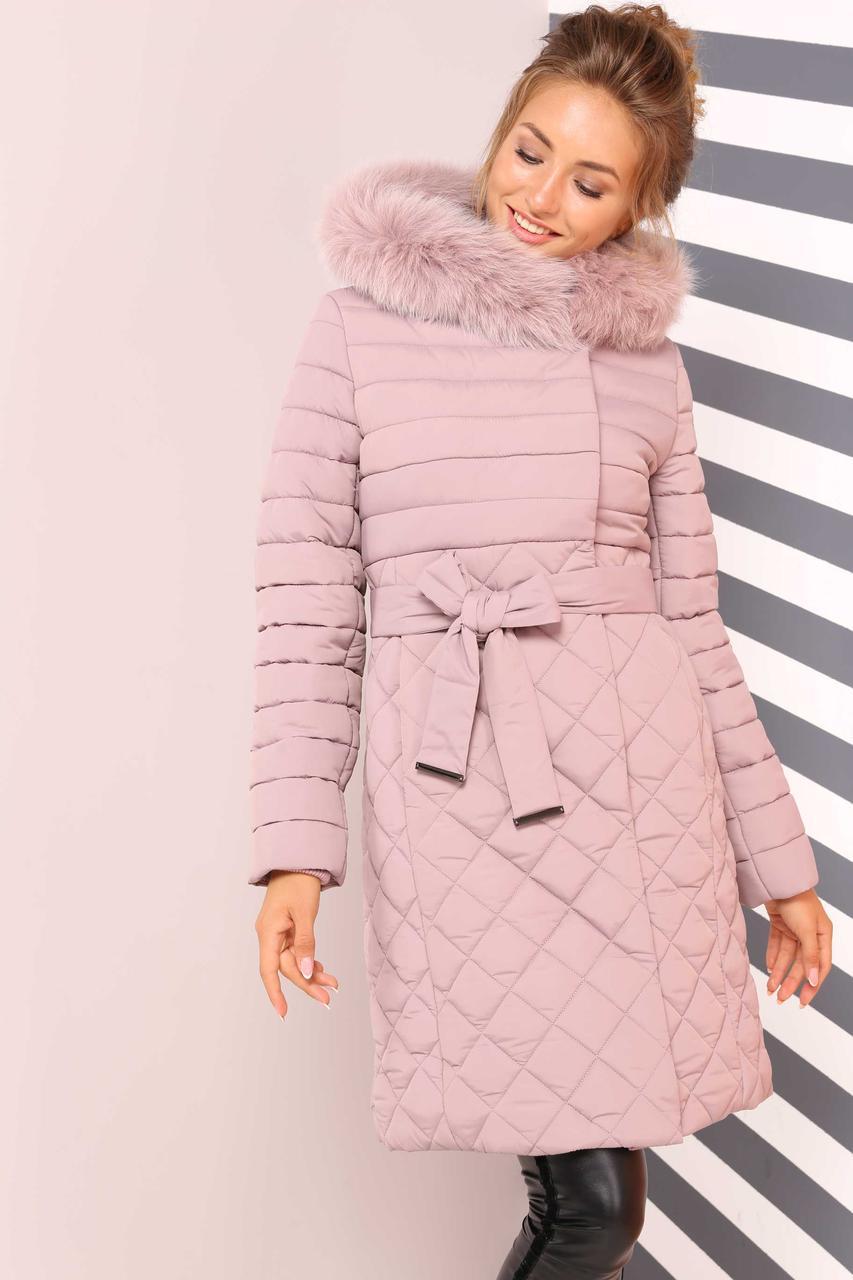 01de6c302c6 Женское молодежное зимнее стеганное пальто Мирайн