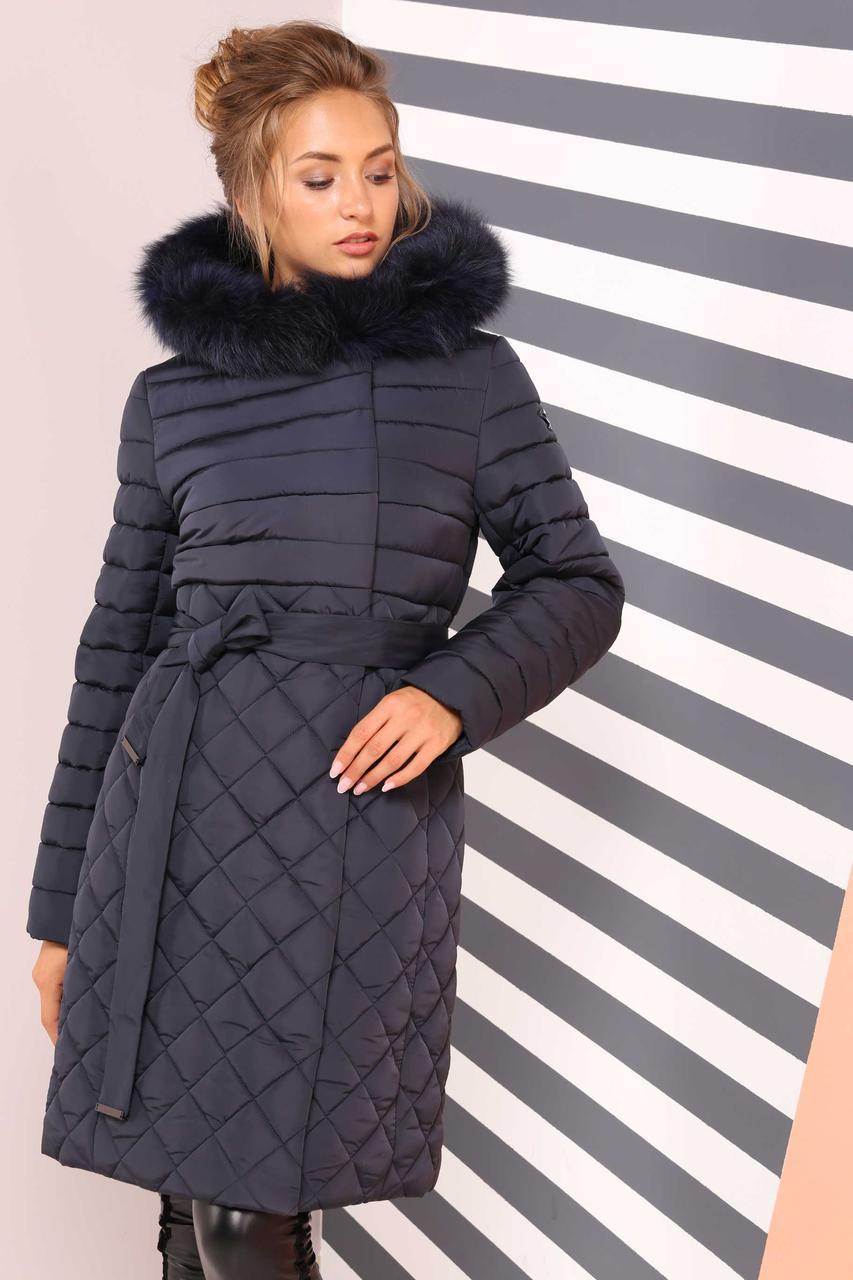 120a0f2380e ... Женское молодежное зимнее стеганное пальто Мирайн