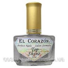 Кристальный блеск для ногтей  El Corazon Nail Care Top Shine №410 16 мл (распродажа)