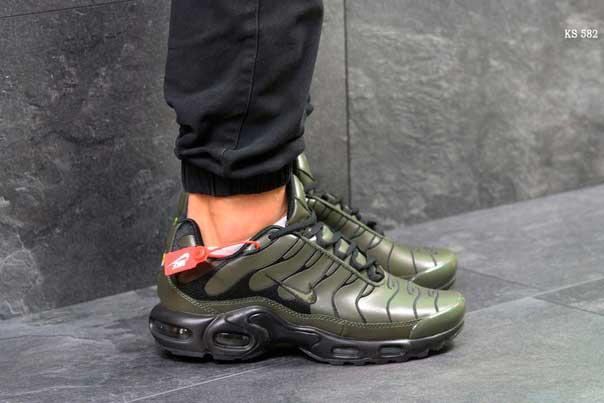 Кроссовки Nike Air Max Tn (зеленые)
