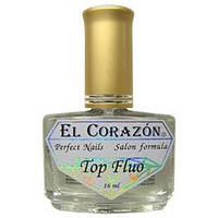 Флуоресцентный лак El Corazon Nail Care Top Fluo №411 (16 мл)