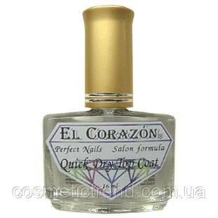 Быстрая сушка-закрепитель El Corazon Nail Care Quick Dry Top Coat №417 16мл, фото 2