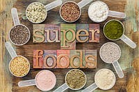 Суперфуды - ягоды Годжи, семена чиа, спирулина