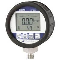 Digital pressure gauge  - ranges: -1 ... +20 up to 1000 bar  - accuracy: 0.25% CPG500