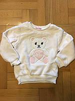 Махровая кофта для девочек оптом, Glass Bear, 86-116 рр., Арт. 8р-7236, фото 3