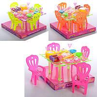 Їдальня A8-67 стіл, 4 стільці, столові прилади, в блістері, 18-17-12 см