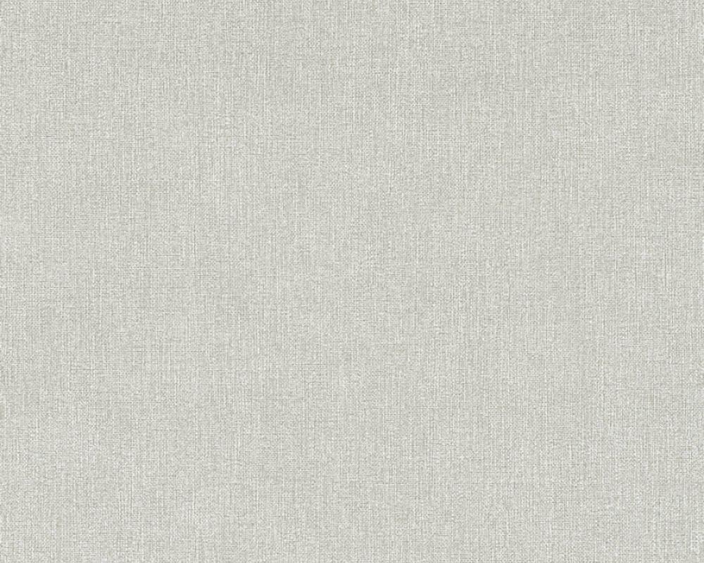 Однотонні світло сірі німецькі шпалери Elegance 361506 теплого відтінку під мішковину, вінілові на флізеліновій
