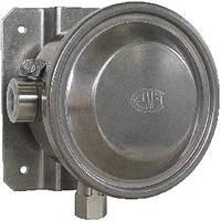 Переключатель дифференциального давления, высокая мощность переключения, IP 65 DW