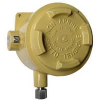 Переключатель давления с трубкой Бурдона, компактный, взрывозащита IP 65 BA