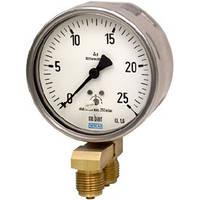 Манометр диффернциального давления, с коробчатой пружиной, стандартное исполнение, Низкие перепады давления, НР 63, 100, 160 мм 716.11