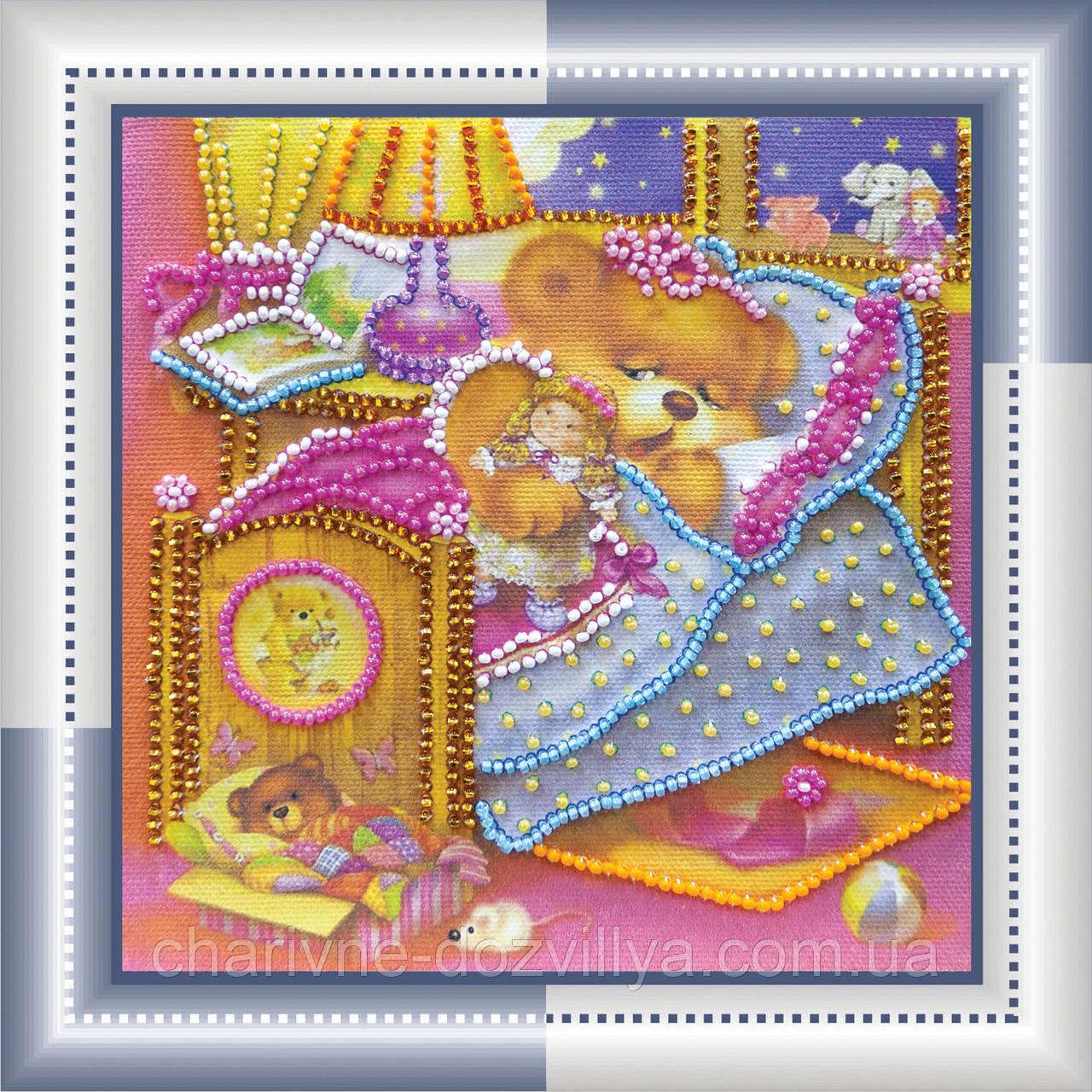 Набор для вышивания бисером Баюшки-баю